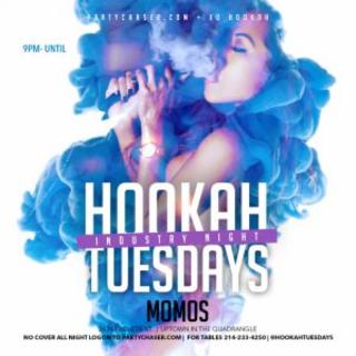 Hookah Tuesdays @ Momos